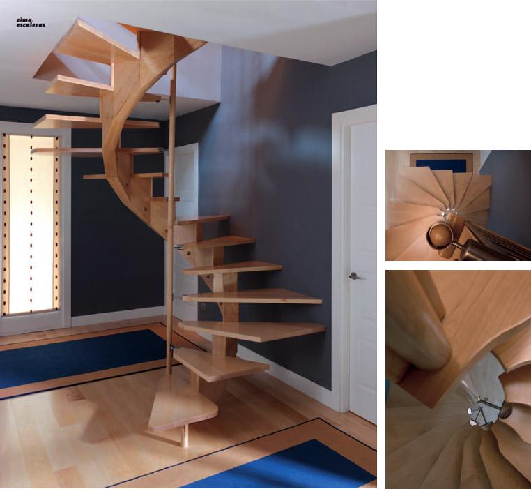 Pin tipos escaleras para ahorrar espacio decoracin for Tipos de escaleras para casa