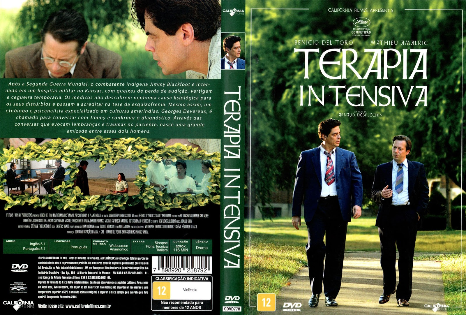 Capa DVD Terapia Intensiva