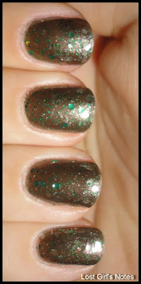 nerd lacquer crunchy frog glitter nail polsih