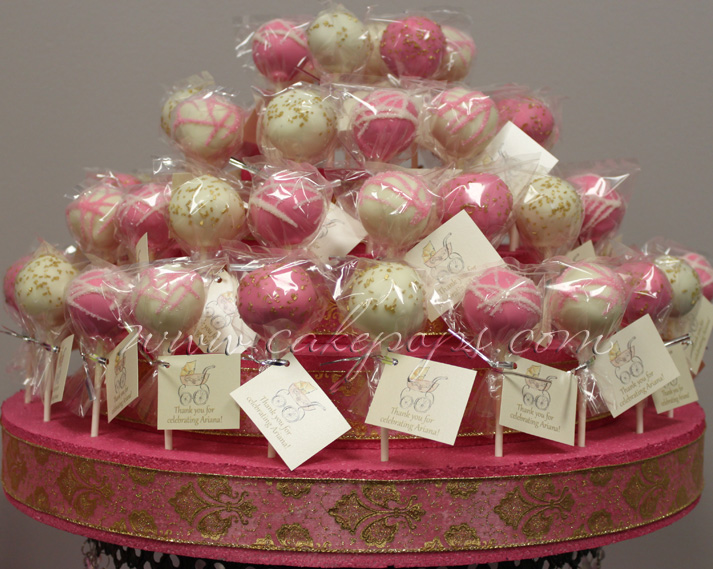 Cake Pop Ideas For Baby Shower : Candy s Cake Pops: Baby Shower Cake Pops