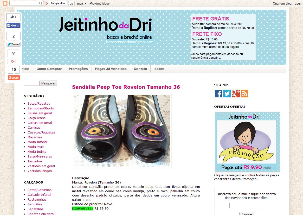 Blog - BAZAR JEITINHO DA DRI