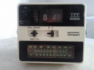 ITT - compact 107 flip clock