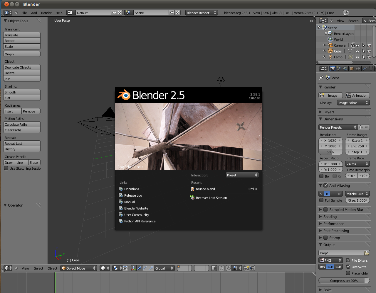 Blender el mejor programa de dise o 3d taringa for Diseno de interiores 3d 7 0