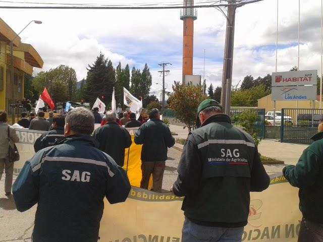 Afsag en Marcha del Sector Público
