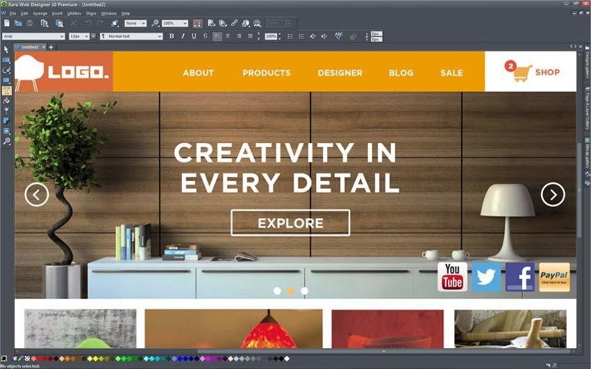 MAGIX Web Designer 10 Premium Full