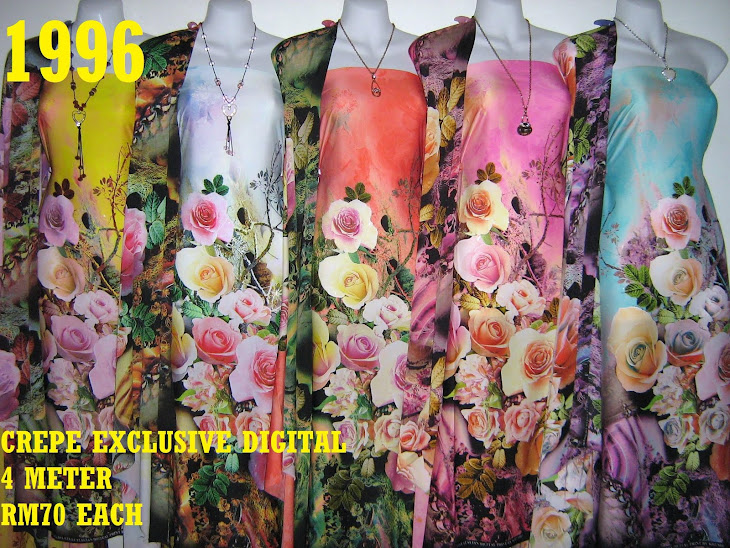 CP 1996: CREPE EXCLUSIVE DIGITAL PRINTED, 4 METER