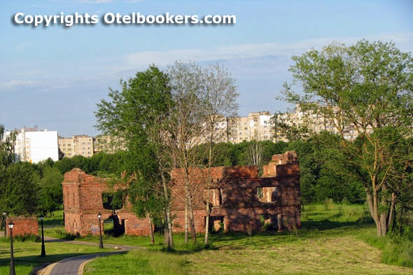 The water mills in the Loshica Estate - Belarus