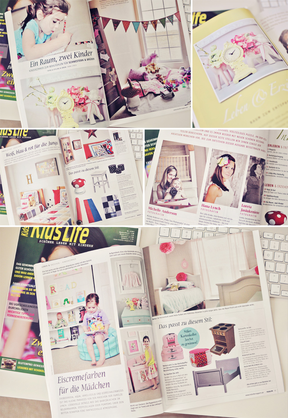 the MomTog diaries: Kids Life Magazine Feature!