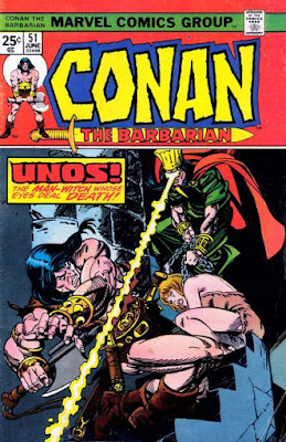 Conan the Barbarian #51, Unos