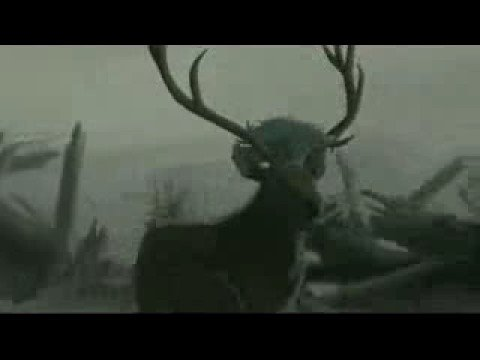 Elk in The Firebird sequence Fantasia 2000 1999 animatedfilmreviews.blogspot.com