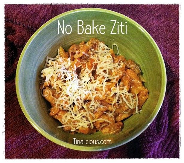 Unbaked Ziti Recipe
