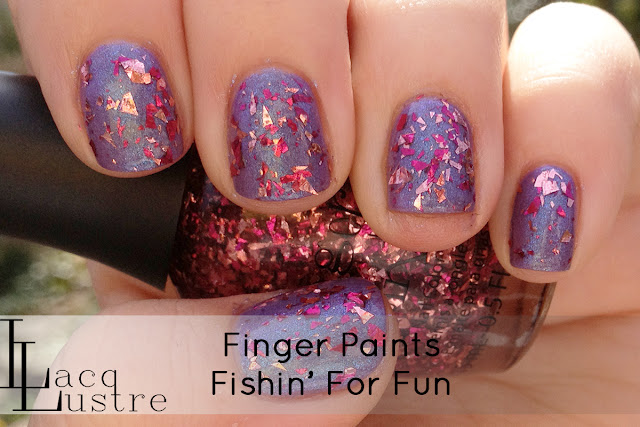 Finger Paints Fishin' For Fun swatch