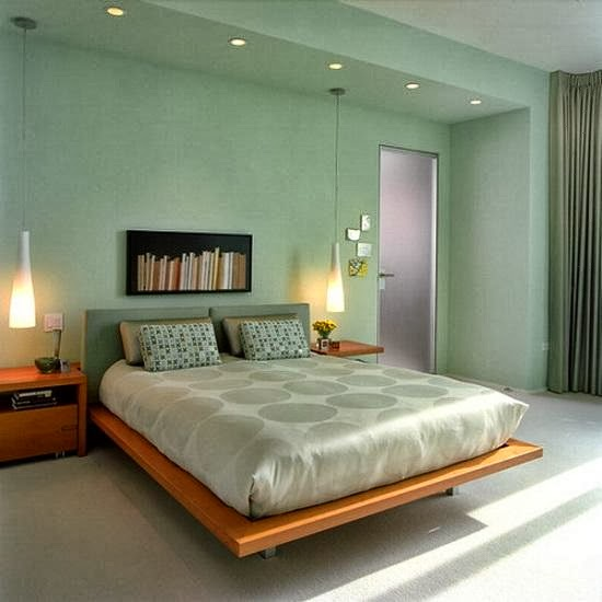 Bedroom Wall Painting Styles : Best color to paint a bedroom inspiration home decor