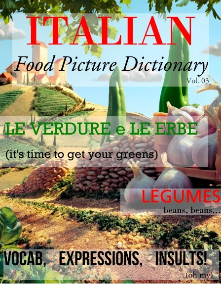 ITALIAN: Food Picture Dictionary VOL. 03 from Via Optimae
