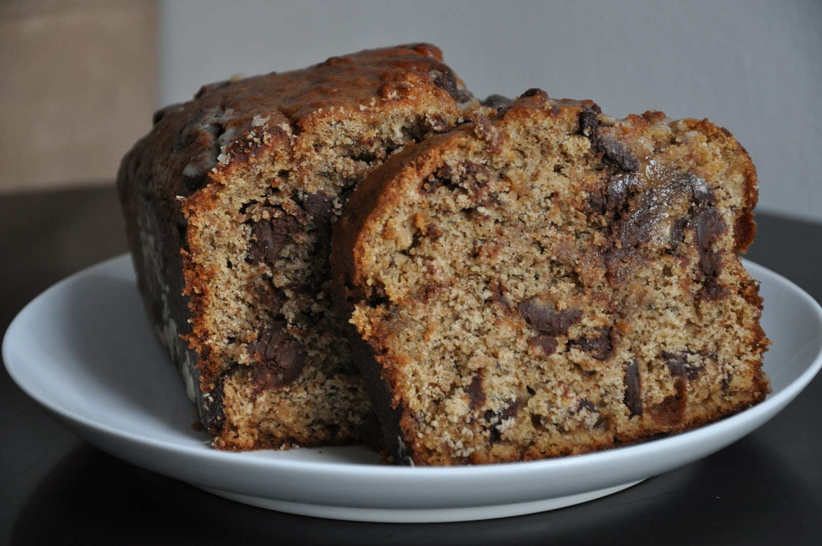 Slice of Rice: Lemony Olive Oil Banana Bread