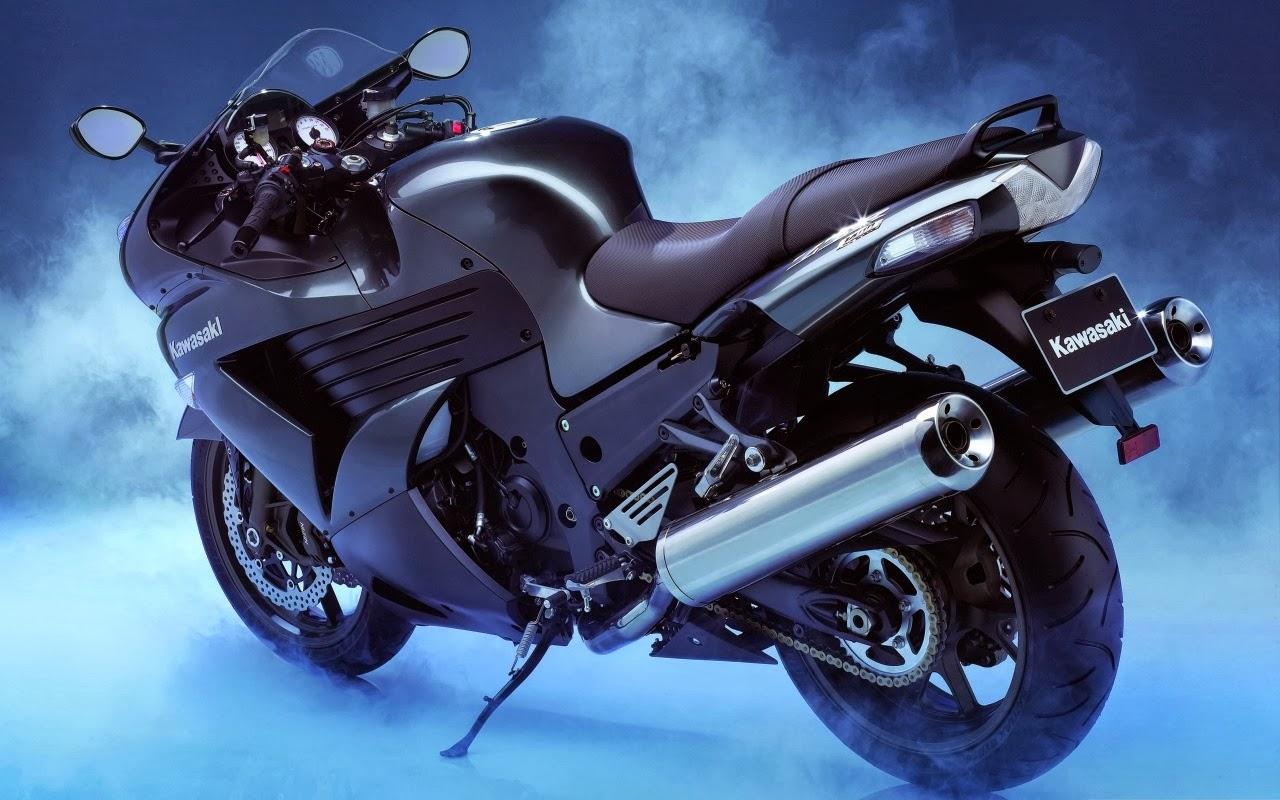 Different Look In Kawasaki Bikes