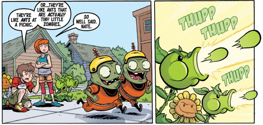The Horror Honeys: Horror Comics: Plants vs Zombies (Yes, it\'s a ...