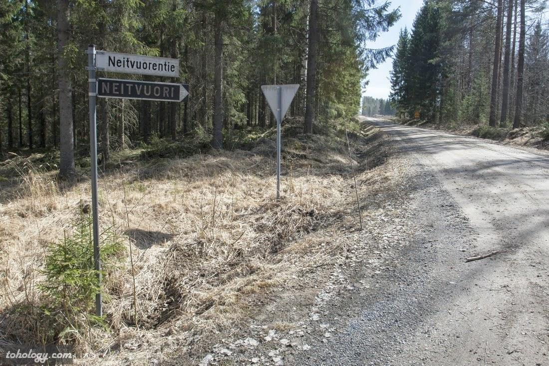 The second turn to Neitvuori // Второй поворот на Нейтвуори