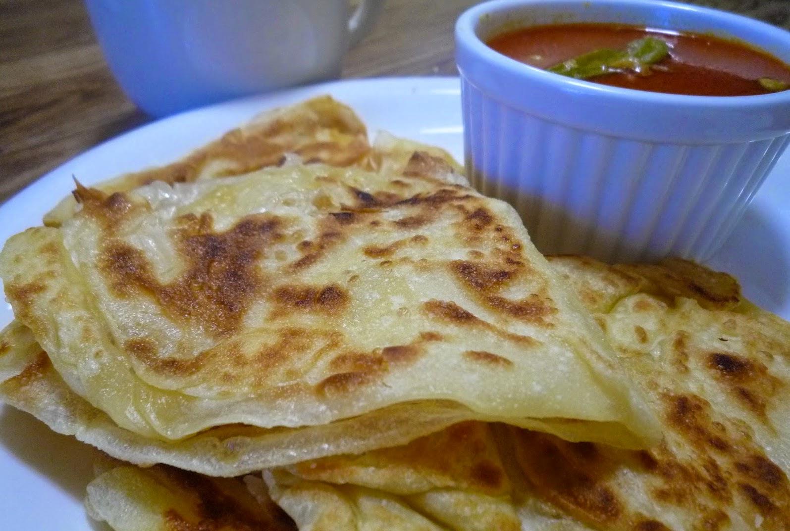 Resepi Roti Canai Rangup
