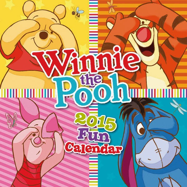 Calendario 2015 Winnie The Pooh