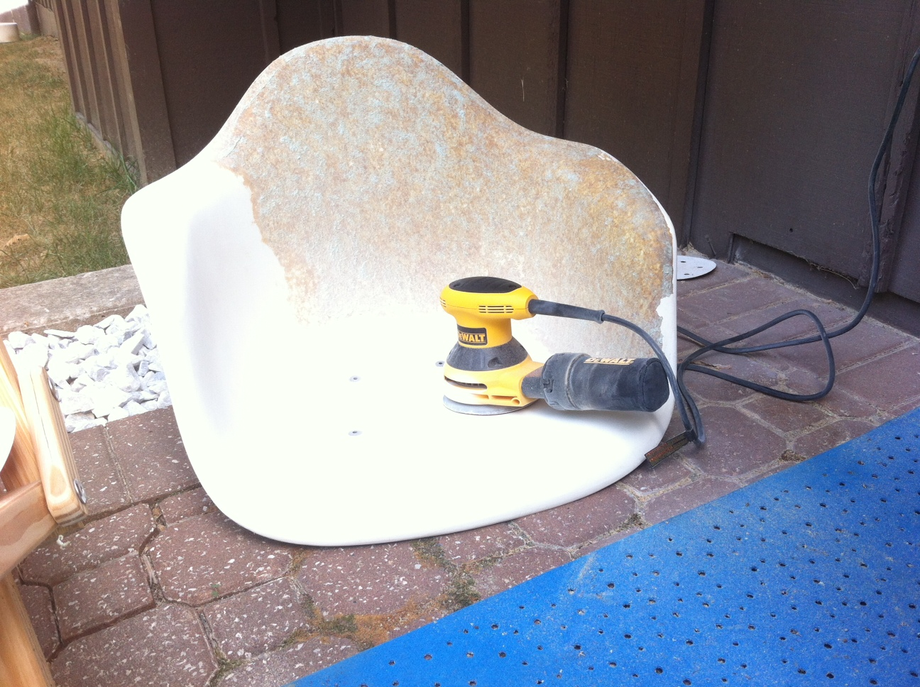 back to the trees yet another eames shell restoration