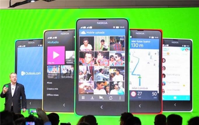 Nokia X dan Nokia X+, Android Pertama Persembahan Nokia