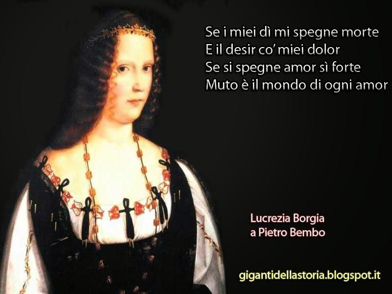 Amore Lucrezia Borgia