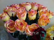. fiori secchi e stabilizzati, ciotole di plastica, vasi per composizioni . (fiori in lattice )