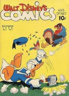 Capa da revista Walt Disney's Comics and Stories 2, com data de novembro de 1940