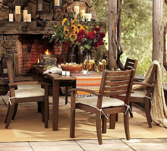 Muebles de exterior para terrazas ideas para decorar for Comedores exteriores para terrazas
