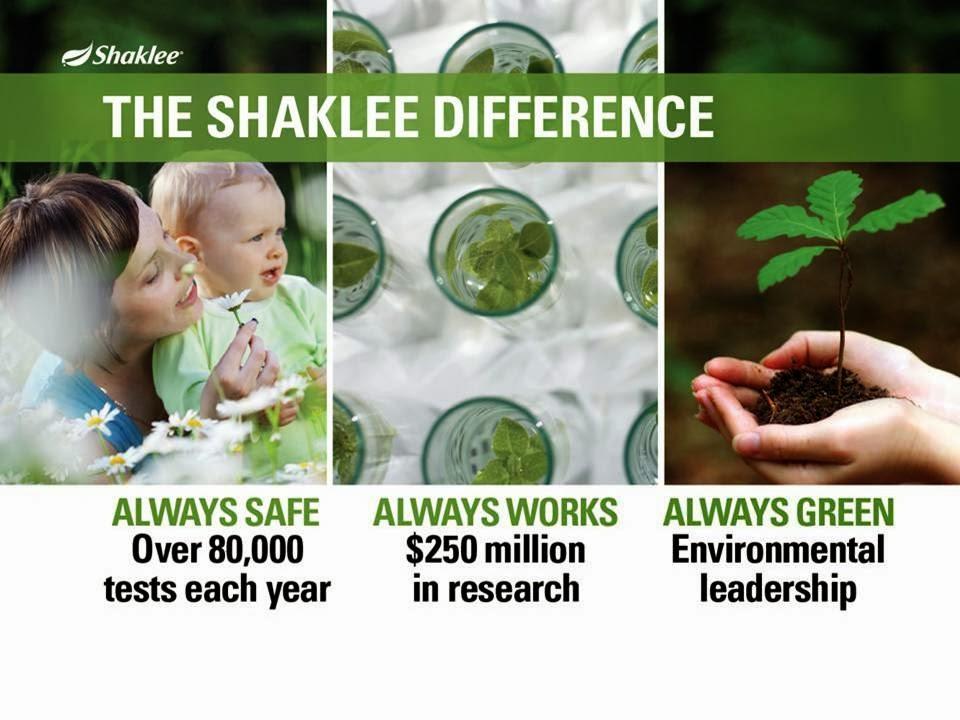 Keistimewaan Shaklee