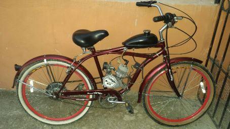 Se vende bicicleta motorizada.