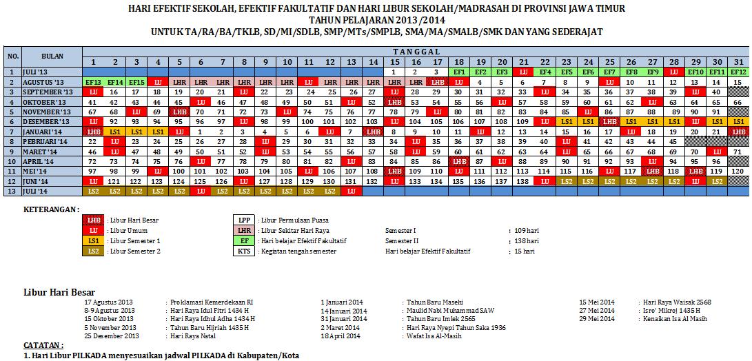 10 dan 11 free kalender 2014 dilengkapi hari hari
