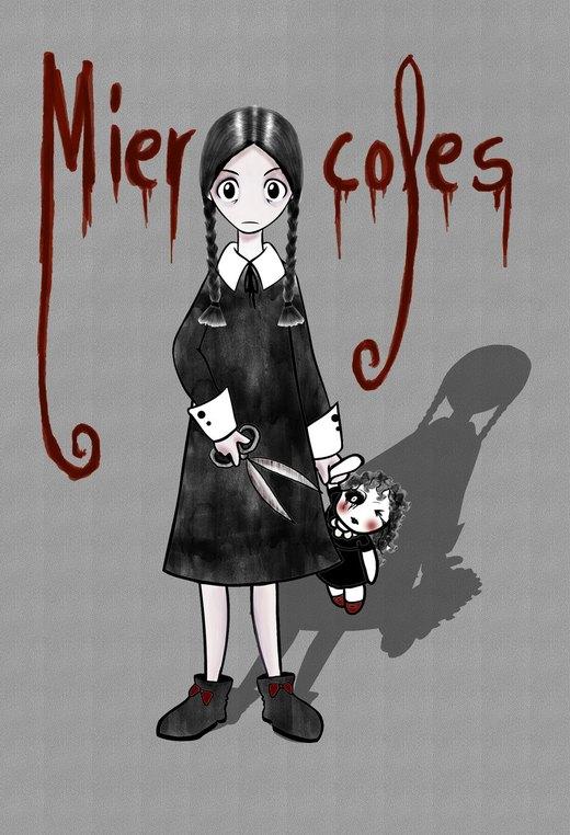 Wednesday Addams por LadySnow