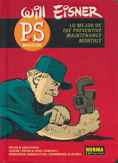 PS Magazine de Will Eisner, edita Norma Editorial desde TBEO y NO LO CREO