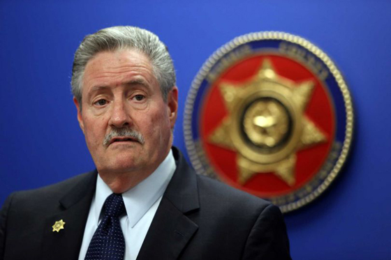 Harris County Sheriff Ron Hickman shamelessly exploited the murder of sheriff's deputy Darren Goforth for an attack on Black Lives Matter. He blamed the tension between citizens and police on activists instead of on police brutality and police murders of unarmed citizens as documented in numerous video recordings.