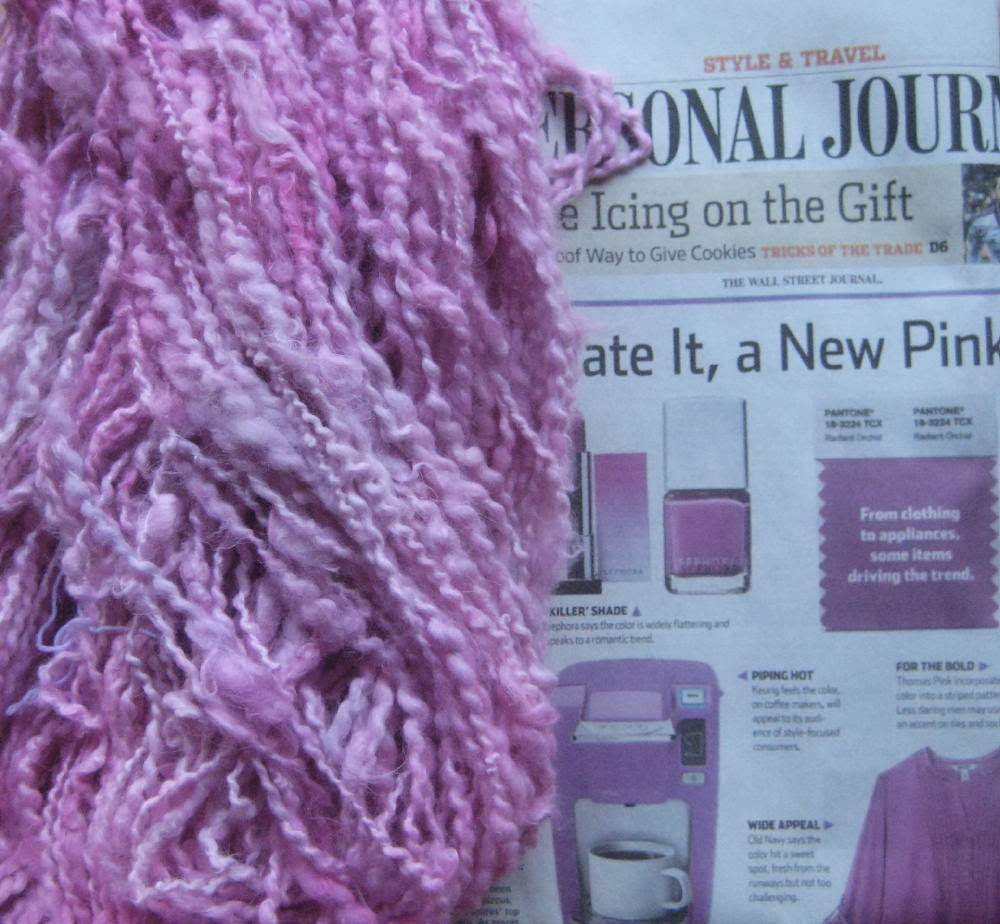 "called this color ""Fuchsia"", Wall Street Journal called this color"