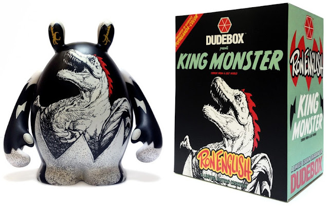 New York Comic-Con 2012 Exclusive Ron English x Dudebox King Monster Vinyl Figure