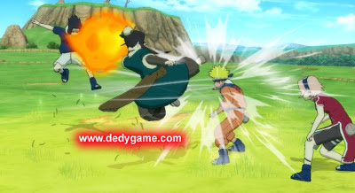 Naruto Shippuden battle