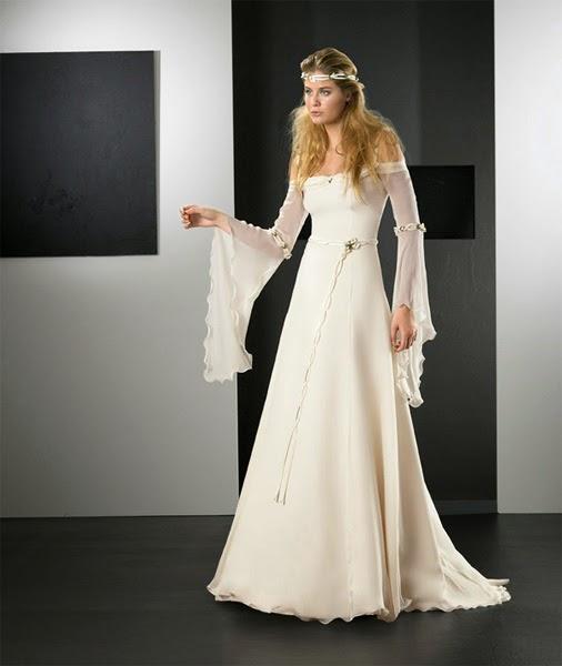 mis vestidos de novia: vestidos de novia medievales: marina arcos