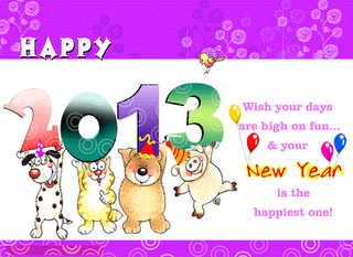 Happy New Year Photo Cards 2013
