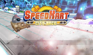 Screenshots of the Speed kart: City race 3D for Android tablet, phone.