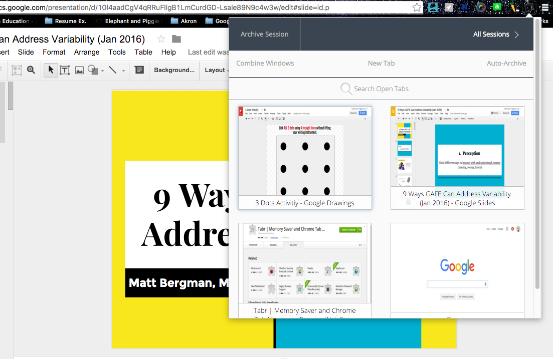 Learn Lead Grow Making Chrome Tabs More Manageable With Tabr