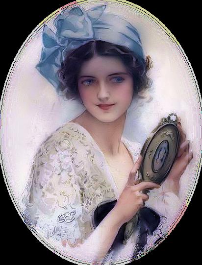 vintage blog victorian lady