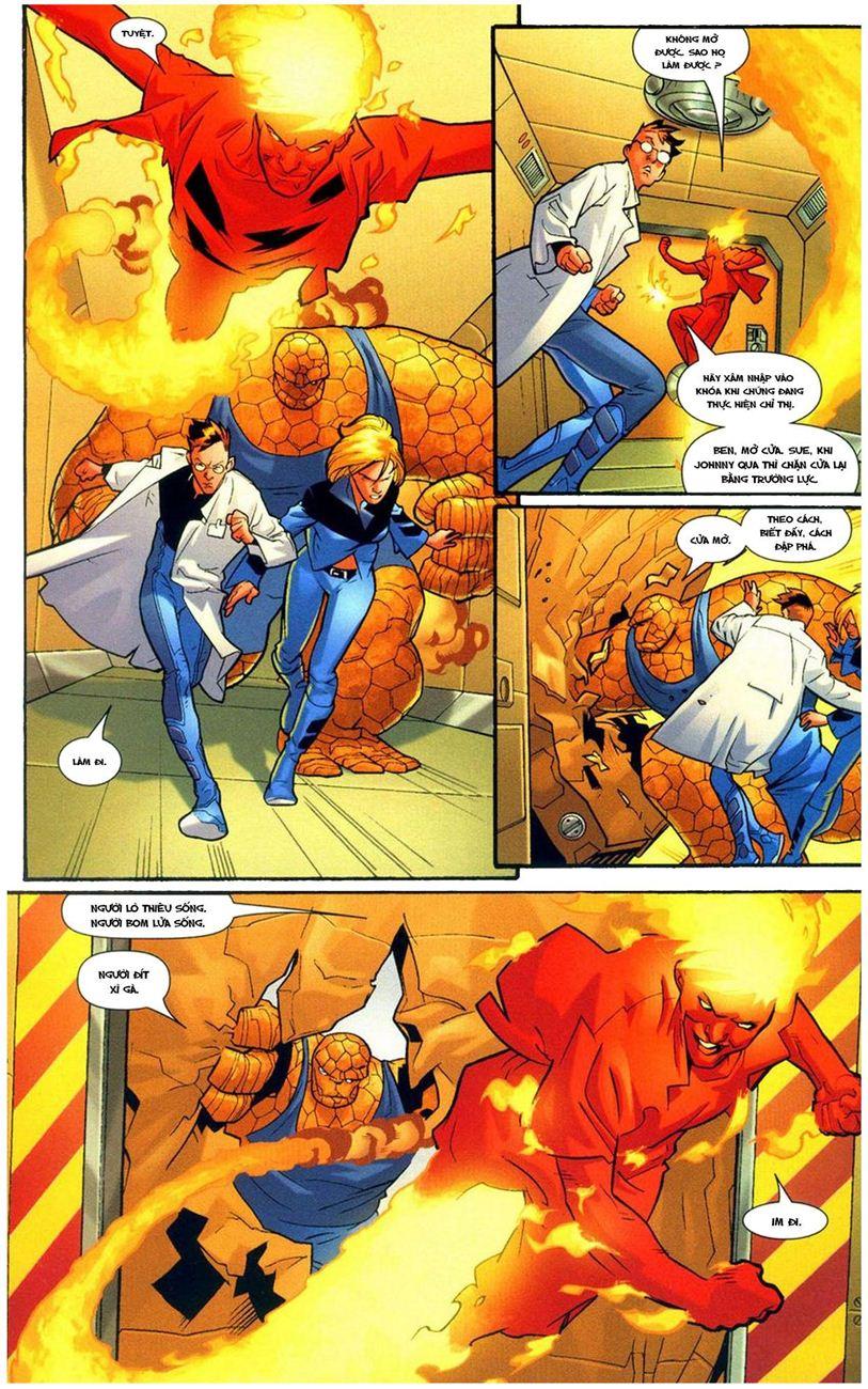 Ultimate Fantastic Four chap 9 - Trang 14