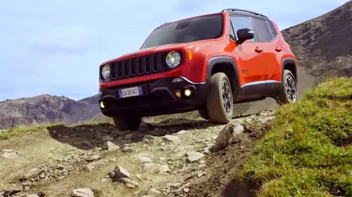 Auto Expresse Jeep Renegade Review Screen Shot