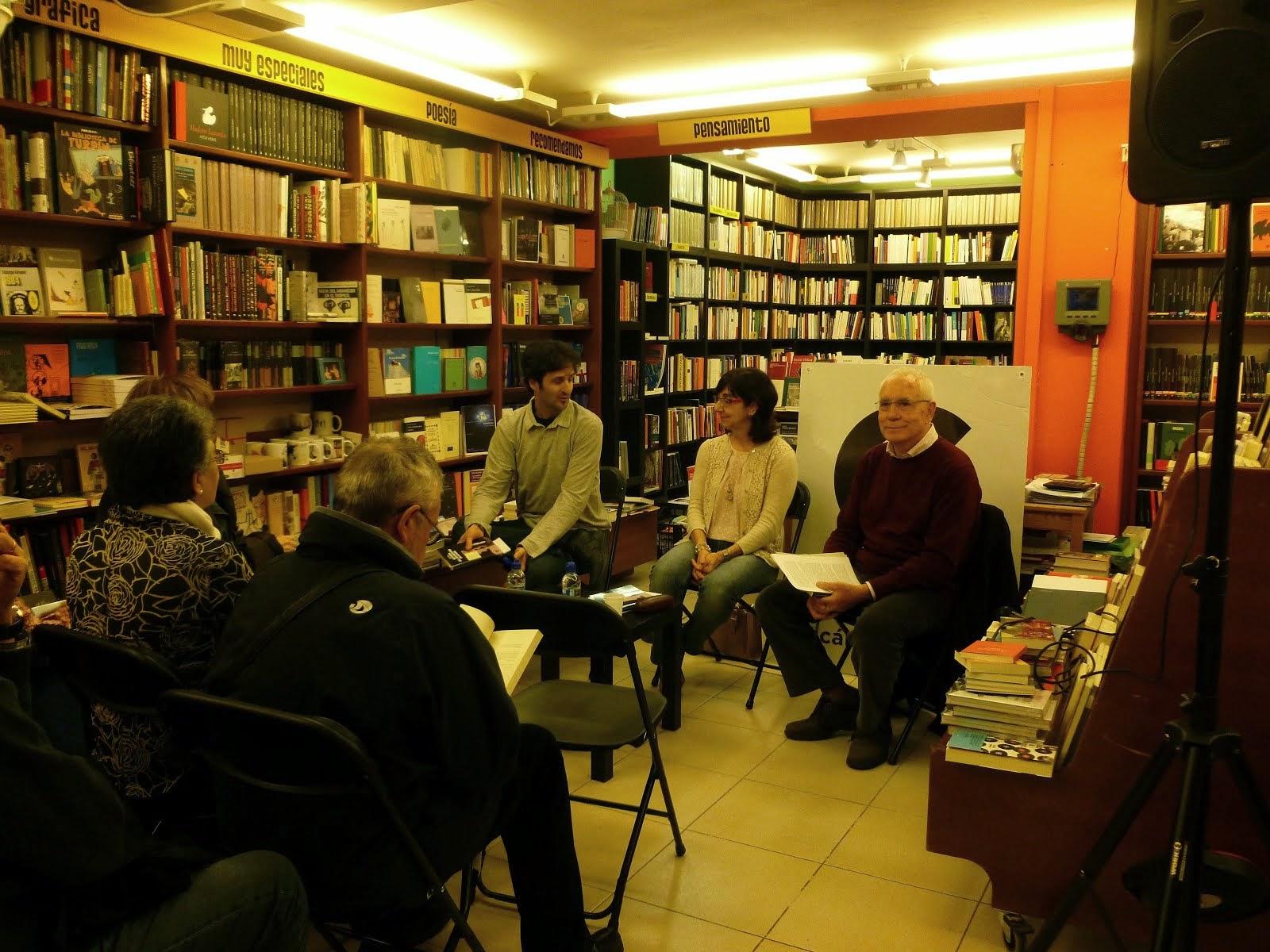 PRESENTACIÓN EN ZARAGOZA (4-04-2014) con Francisco Marcellán y José Luis Ledesma