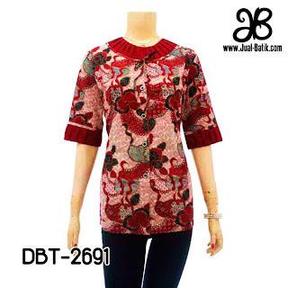 Model Blus Batik DBT-2691