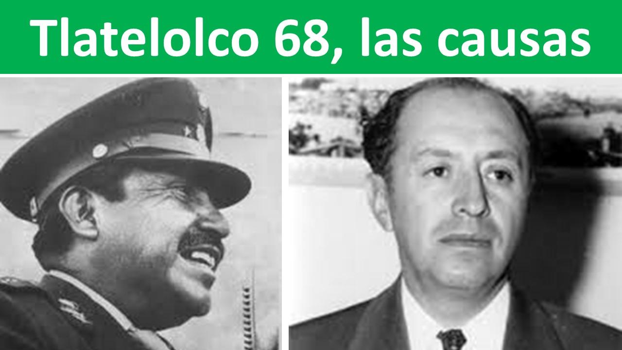 Tlatelolco 68, las causas