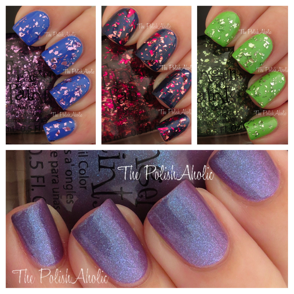 The PolishAholic: FingerPaints Spring 2013 Wild About Spring ...